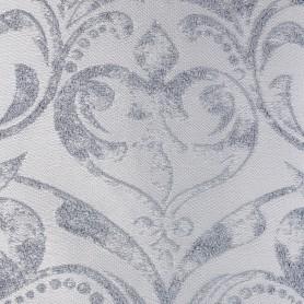 Ткань жаккард «Моника» 280 см цвет серебристый