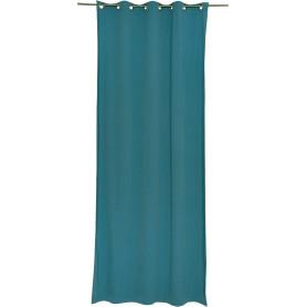 Штора на люверсах «Helena», 140х280 см, цвет синий