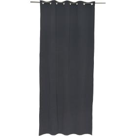 Штора на люверсах «Helena», 140х280 см, цвет тёмно-серый