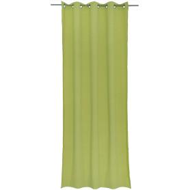 Штора на люверсах «Helena», 140х280 см, цвет зелёный