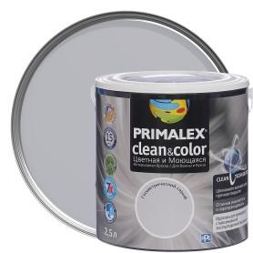 Краска PR-X Clean&Color 2,5 л Геометрический серый