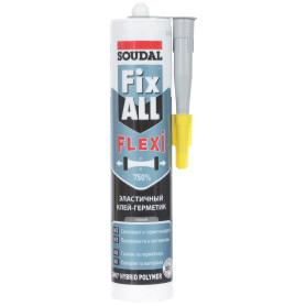 Клей-герметик Fix all classic цвет серый 290 мл