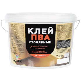 Клей ПВА для внутренних работ 2.5 кг