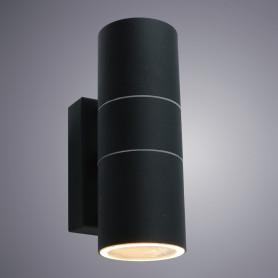 Настенный светильник уличный «Mistero» 2хGU10х35 Вт IP44 цвет чёрный металлик