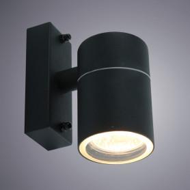 Настенный светильник уличный «Mistero» 1хGU10х35 Вт IP44 цвет чёрный металлик