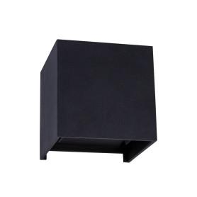 Бра уличное светодиодное «RulKub», 6 Вт, IP54, цвет серый металлик