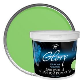 Краска для кухни и ванной цвет зеленая мята 0.9 л