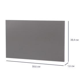 Дверь для шкафа МФ 38x59.6x1.6 см цвет графит