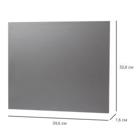 Дверь для шкафа МФ 50,8x59.6x1.6 см цвет графит