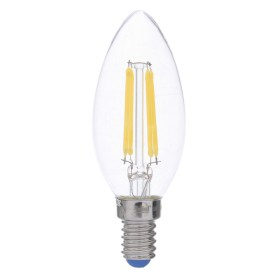 Лампа светодиодная филаментная Airdim, форма свеча, E14 5 Вт 500 Лм свет холодный