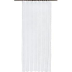 Тюль на ленте «Полина», 145x250 см, цвет белый