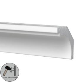 Плинтус потолочный полистирол ударопрочный Decomaster D115 белый 30х30х2000 мм