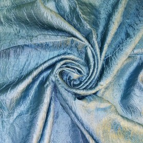 Ткань 1 п/м, тергалет, 280 см, цвет голубой