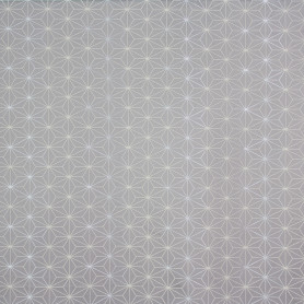 Ткань 1 п/м «Ажур», жаккард, 300 см, цвет серый