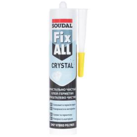 Клей-герметик Fix All Crystal  бесцветный 290 мл
