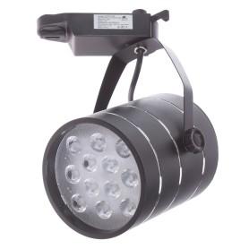 Трековый светильник светодиодный «Cinto» 12 Вт, 4 м², цвет черный