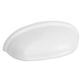Ручка мебельная Inspire Cup 64 мм, цвет белый