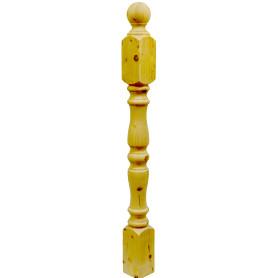 Столб симметричный, 100х100х1200 мм, хвоя сорт AB