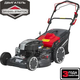 Газонокосилка бензиновая самоходная Sterwins PRO Briggs&Stratton, 4.3 л/с, 56 см