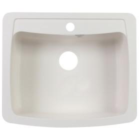 Мойка врезная Granfest GF-S, 60.5х51 см, глубина 20 см, цвет белый