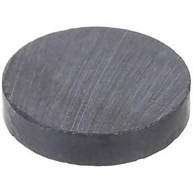 Магнит d15 мм цвет чёрный