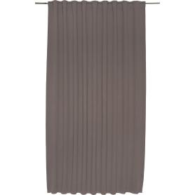 Штора на ленте «Ночь», 200х280 см, цвет серый, бежевый