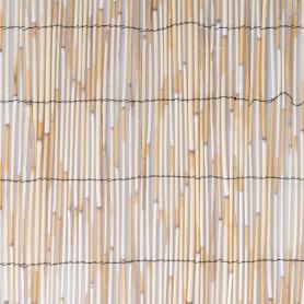Изгородь декоративная натуральная тростник 3x1 м