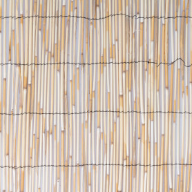 Изгородь декоративная натуральная тростник 3x2 м