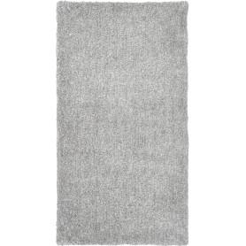 Ковёр, лавсан, цвет серый, 0.8х1.5 м