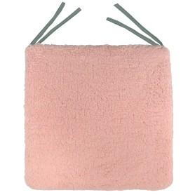 Галета для стула «Шерпа», 40x40 см, цвет розовый
