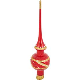 Верхушка для ёлки «Золотое плетение», 28 см