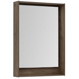 Зеркало с подсветкой «Мокка» 60 см, цвет дуб