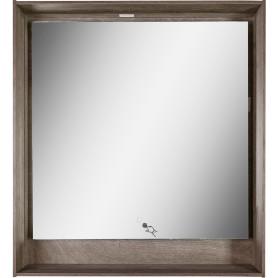Зеркало с подсветкой «Мокка» 100 см, цвет дуб серый
