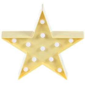 Ночник светодиодный «Звездочка» 3 Вт 250 Лм свет тёплый белый