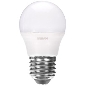 Лампа светодиодная Osram «Шар», E27, 6.5 Вт, 550 Лм, свет тёплый белый