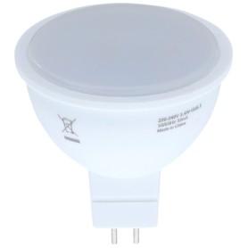 Лампа светодиодная Osram, GU5.3, 3.4 Вт, 300 Лм, свет тёплый белый, матовая колба