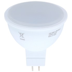 Лампа светодиодная Osram, GU5.3, 4.2 Вт, 400 Лм, свет тёплый белый, матовая колба