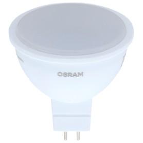 Лампа светодиодная Osram, GU5.3, 4.2 Вт, 400 Лм, свет холодный белый, матовая колба