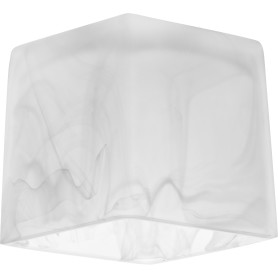 Плафон VL6827P, Е27, 60 Вт, стекло, цвет белый