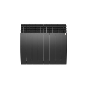 Радиатор Royal Thermo BiLiner 500 8 секций, Noir Sable