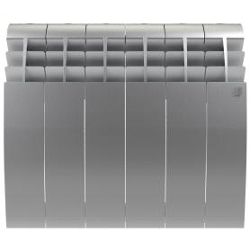 Радиатор Royal Thermo BiLiner 500 6 секций, Silver Satin