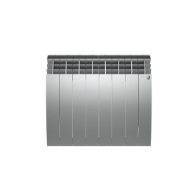 Радиатор Royal Thermo BiLiner 500 8 секций, Silver Satin