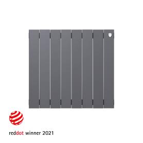 Радиатор Royal Thermo PianoForte 500 8 секций, Silver Satin