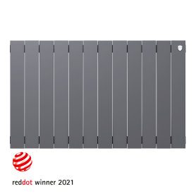 Радиатор Royal Thermo PianoForte 500 12 секций, Silver Satin