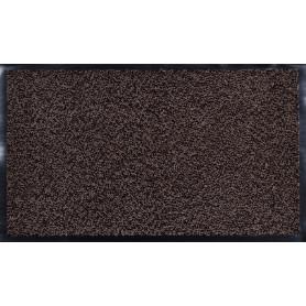 Коврик Fiesta, 45x75 см, полипропилен/резина, цвет коричневый/чёрный