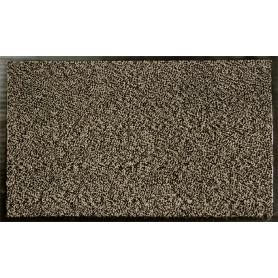 Коврик Fiesta, 90x150 см, полипропилен/резина, цвет серый/чёрный