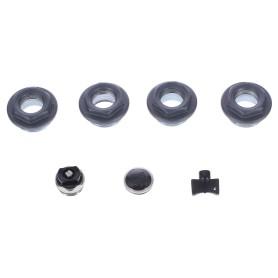Присоединительный набор Royal Thermo 1/2, цвет чёрный