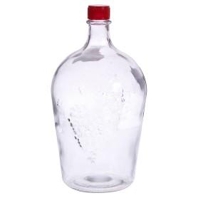 Бутылка стеклянная «Ровоам», 4 л