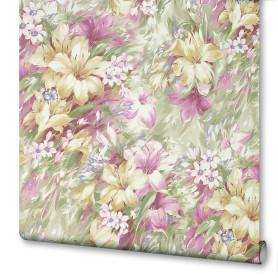 Обои флизелиновые Victoria Stenova Summer розовые 1.06 м 998707