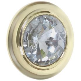 Ручка-кнопка CRL35, ЦАМ, цвет золото